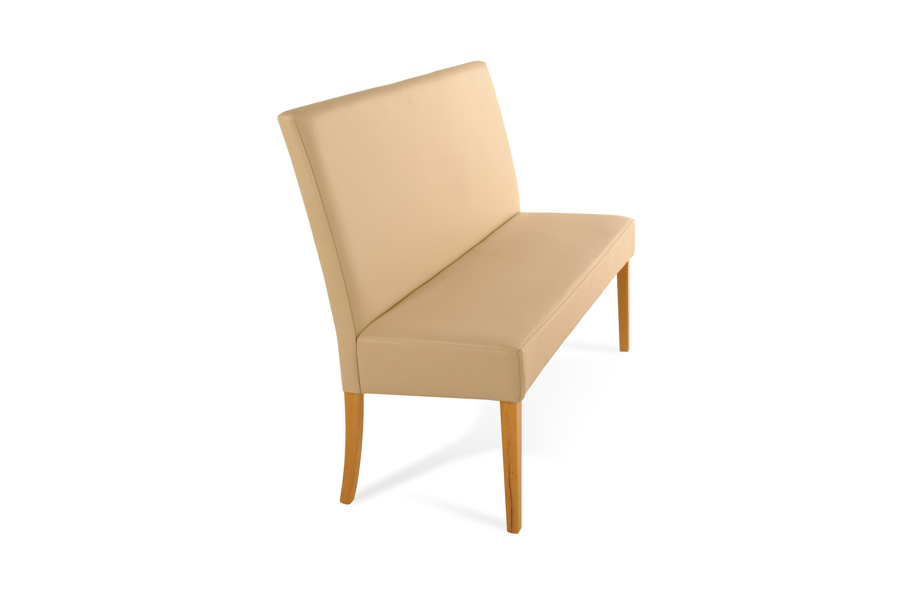 sam sitzbank mit r ckenlehne 200 cm bank essbank creme roma. Black Bedroom Furniture Sets. Home Design Ideas