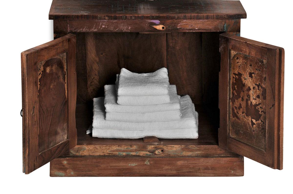 sam bad vintage look bunt holz 5tlg farbig riverboat bestellware. Black Bedroom Furniture Sets. Home Design Ideas