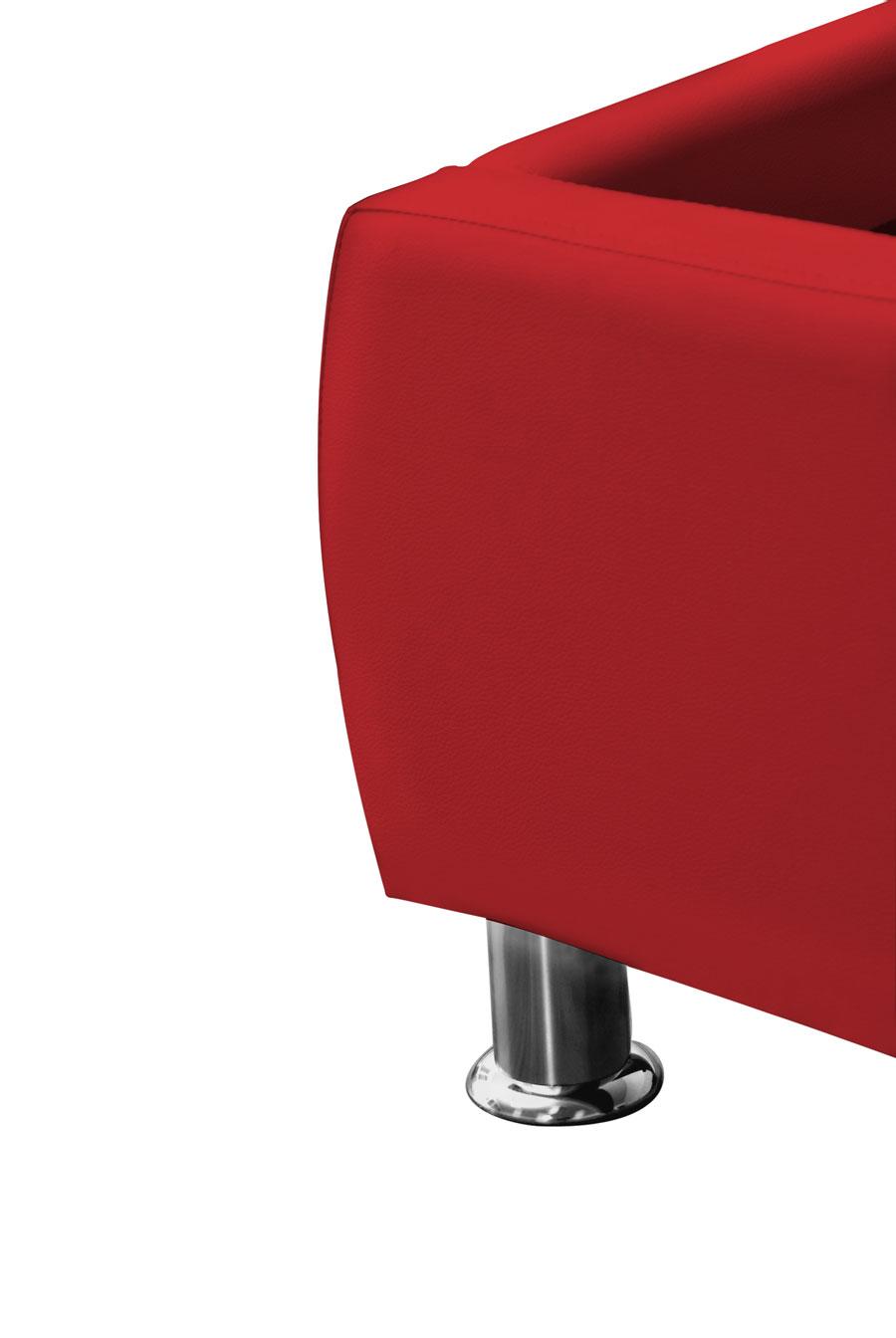 sam polsterbett 180x200 cm rot bettgestell g nstig zarah. Black Bedroom Furniture Sets. Home Design Ideas
