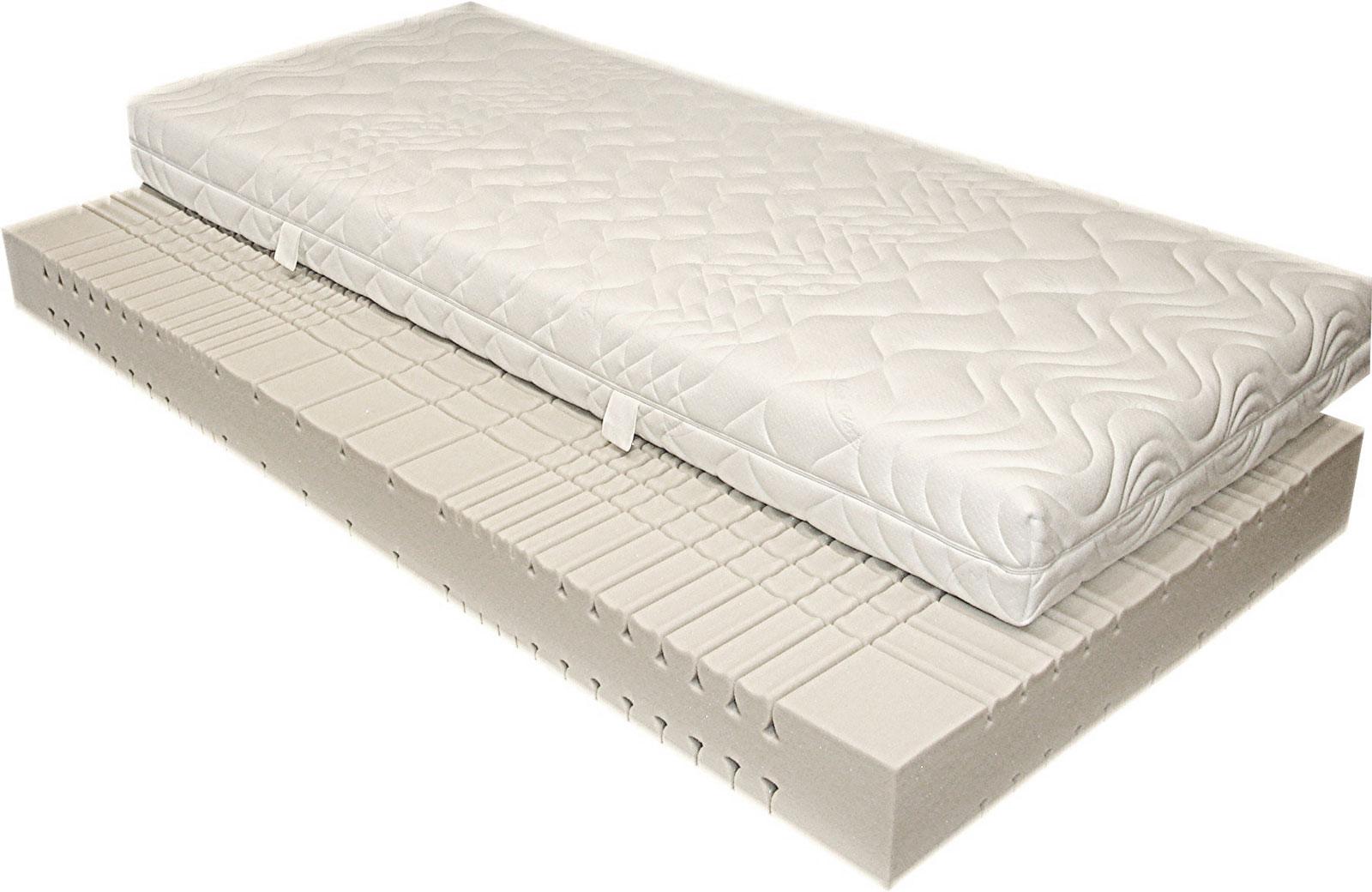 sam 7 zonen kaltschaum h2 matratze 160 x 200 cm komfort. Black Bedroom Furniture Sets. Home Design Ideas