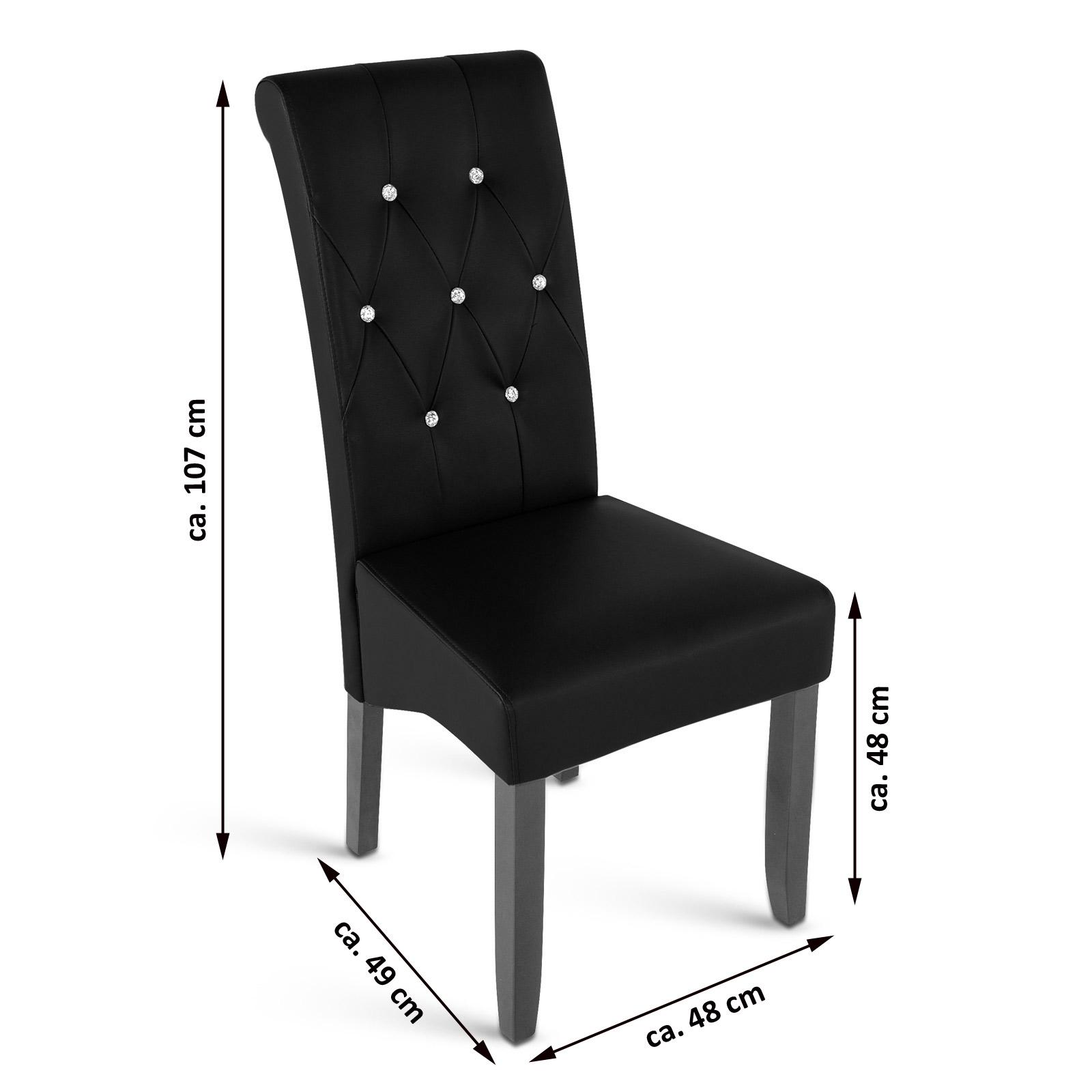 sam esszimmerstuhl stuhl schwarz recyceltes leder nadja. Black Bedroom Furniture Sets. Home Design Ideas