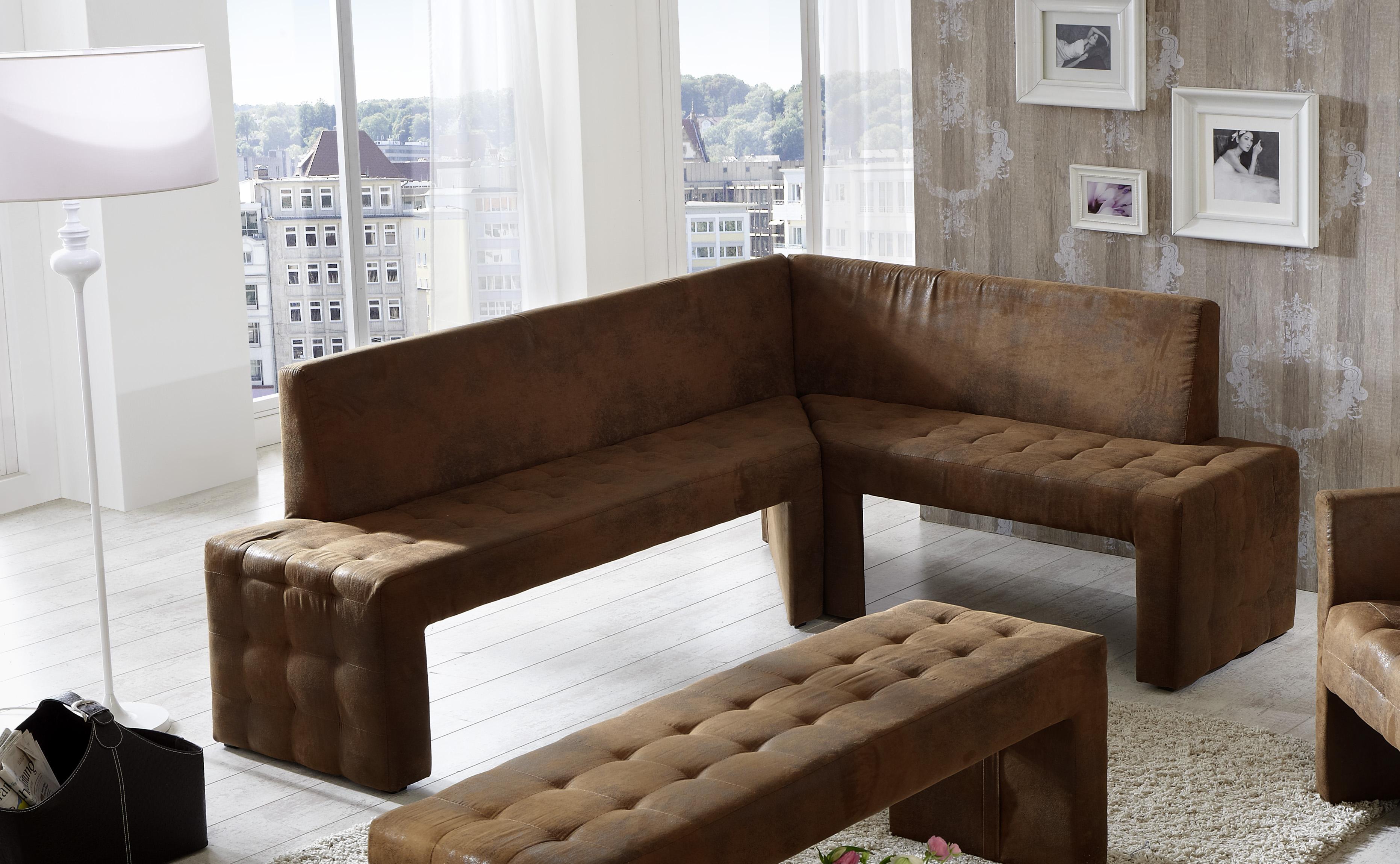 sam eckbank 200 x 160cm wildleder optik gobi braun karina ebg trend l. Black Bedroom Furniture Sets. Home Design Ideas