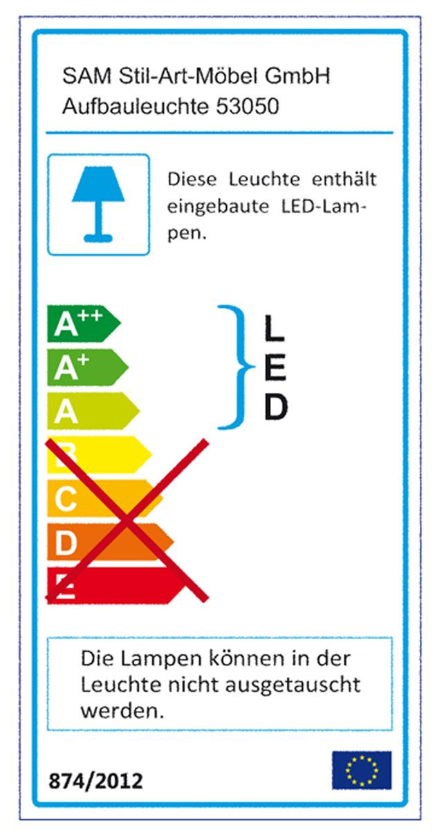 SAM® Badezimmer Spiegelschrank Beleuchtung 60 cm Lampe