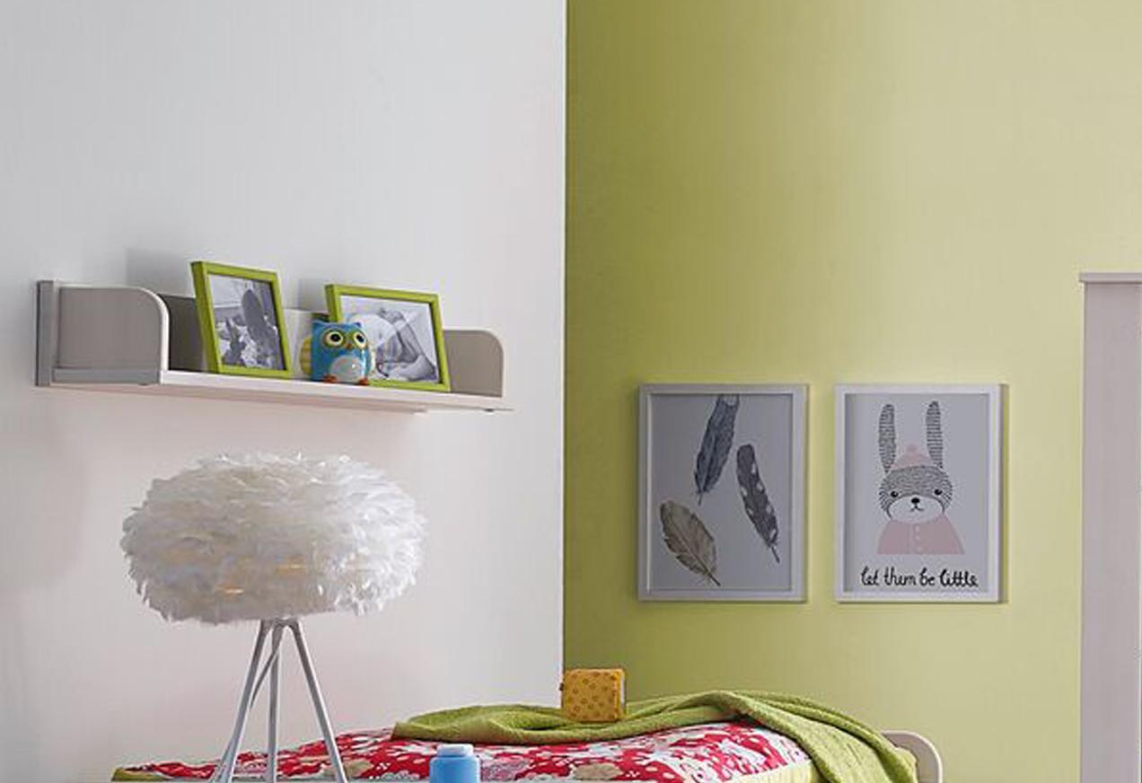sam kleines wandregal wei kiefernholz emma. Black Bedroom Furniture Sets. Home Design Ideas