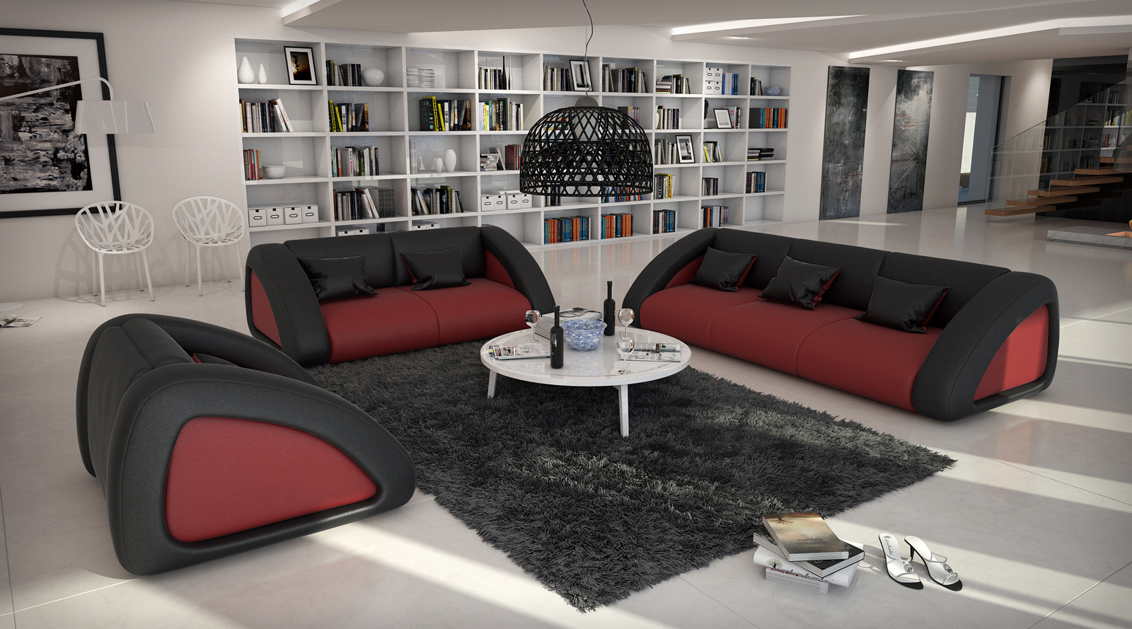 sam sofa garnitur farbauswahl ciao combi 3 2 1. Black Bedroom Furniture Sets. Home Design Ideas