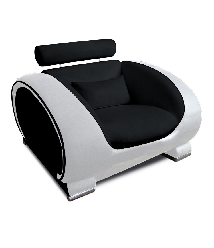 sam® design wohnzimmersessel schwarz weiß vigo, Wohnzimmer