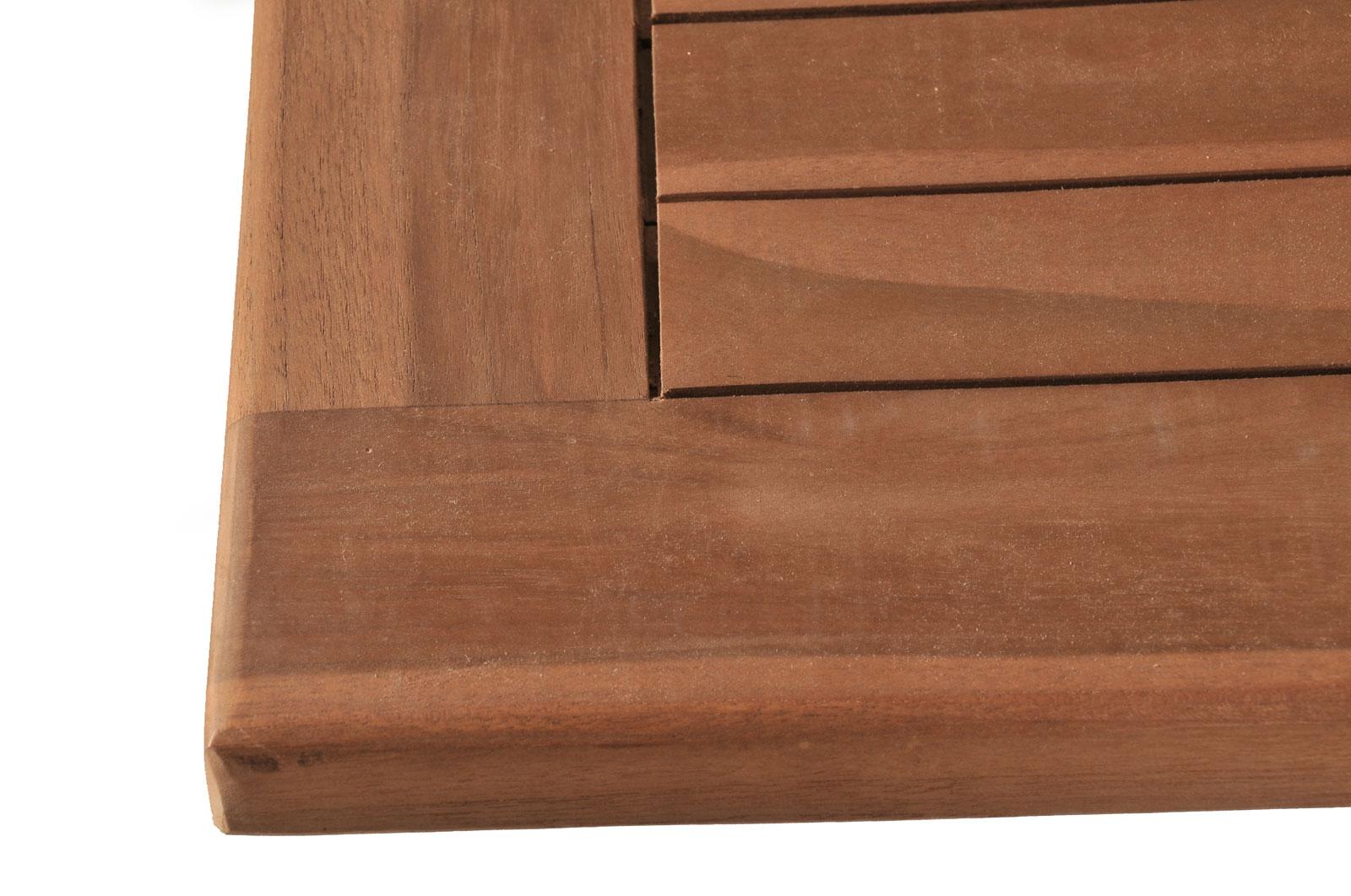 sam gartentisch a klasse teak holz 150 200 cm x 100 jambi. Black Bedroom Furniture Sets. Home Design Ideas