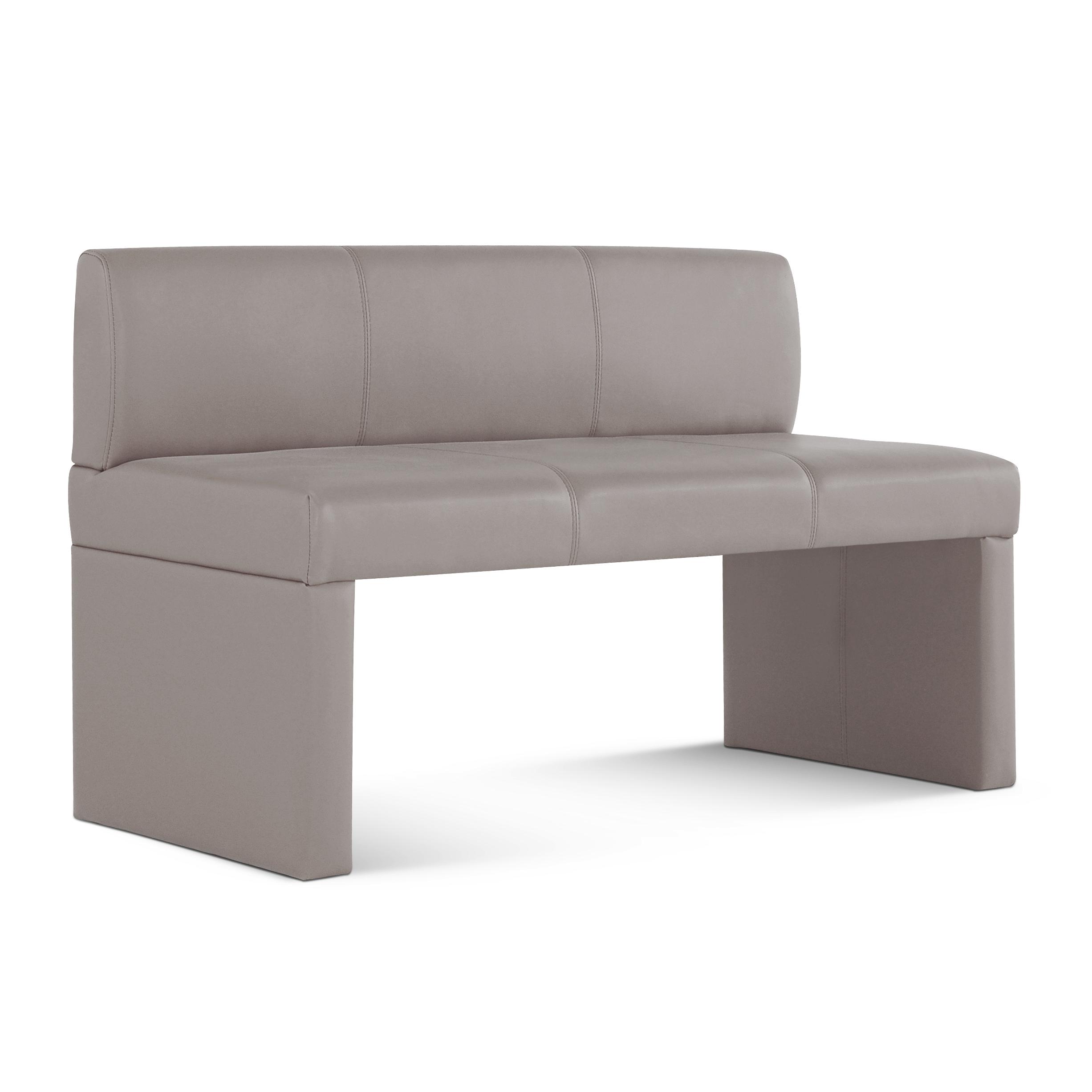 sam sitzbank mit lehne muddy 126 cm recyceltes leder talea. Black Bedroom Furniture Sets. Home Design Ideas