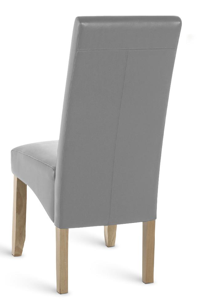Esszimmerstuhl Grau Leder : sale esszimmerstuhl stuhl grau recyceltes leder leon ~ Watch28wear.com Haus und Dekorationen