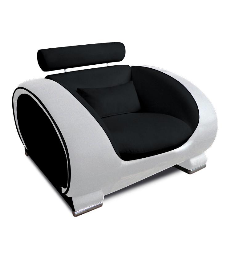SAM® Design Wohnzimmer Sessel 108 cm schwarz weiß Vigo Auf ...