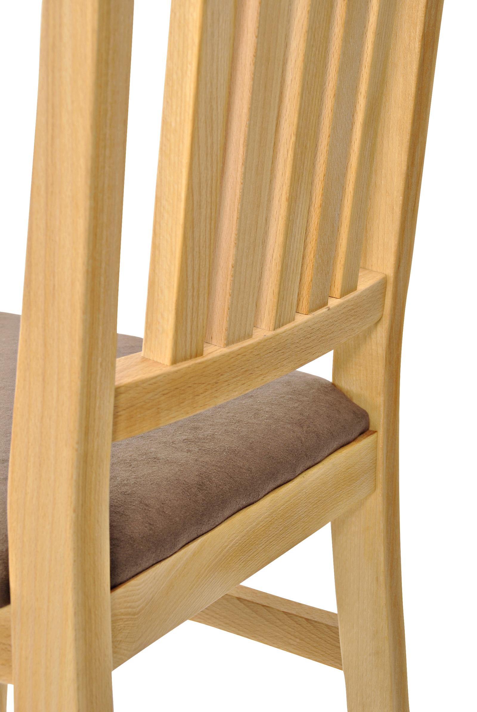 sam® esszimmer massivholz stuhl kernbuche braun balin