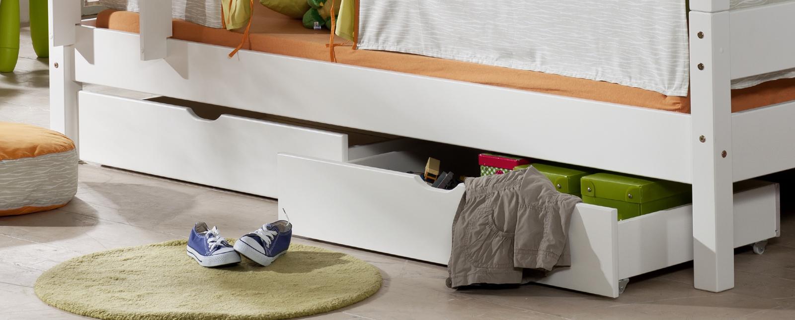 sam 2er set schubk sten f r hochbetten in natur wei buche. Black Bedroom Furniture Sets. Home Design Ideas