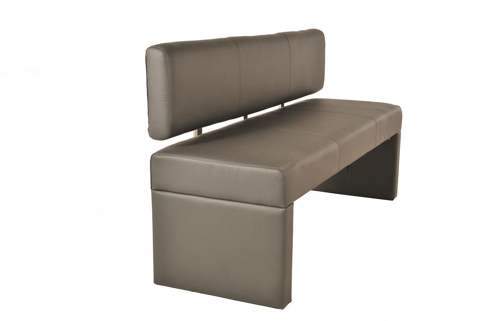 sam sitzbank sina 80 cm recyceltes leder muddy auf lager. Black Bedroom Furniture Sets. Home Design Ideas