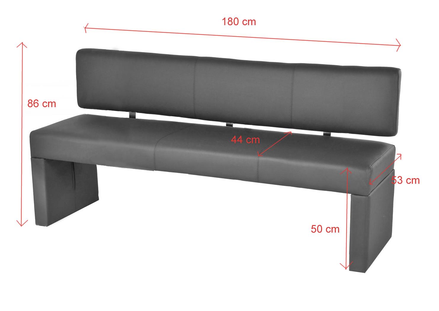 sam esszimmer sitzbank recyceltes leder muddy 180 cm sina auf lager. Black Bedroom Furniture Sets. Home Design Ideas