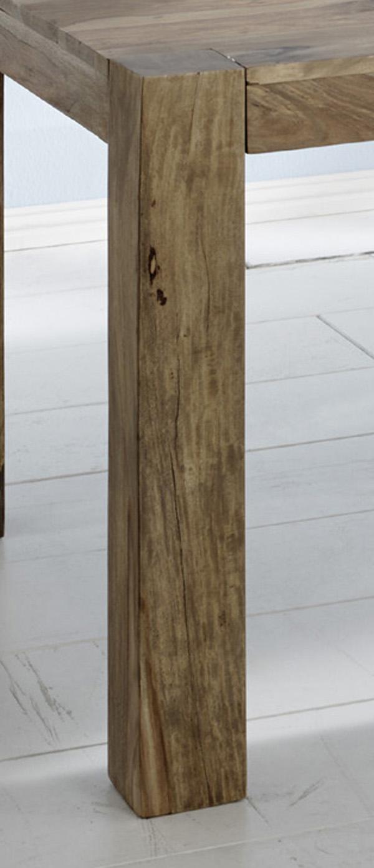 SAM® Esstisch Massivholz 200 x 100 cm Sheesham natur YOGA BIG 6515