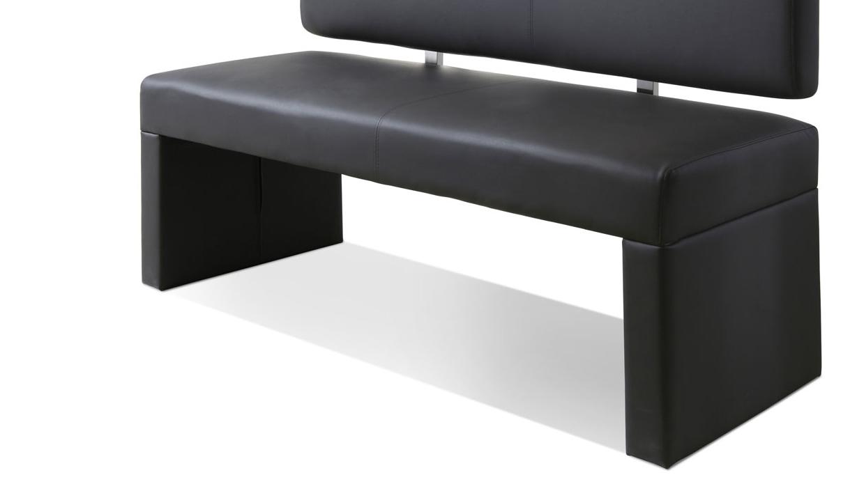 sam sitzbank silas 140 cm recyceltes leder grau auf lager. Black Bedroom Furniture Sets. Home Design Ideas