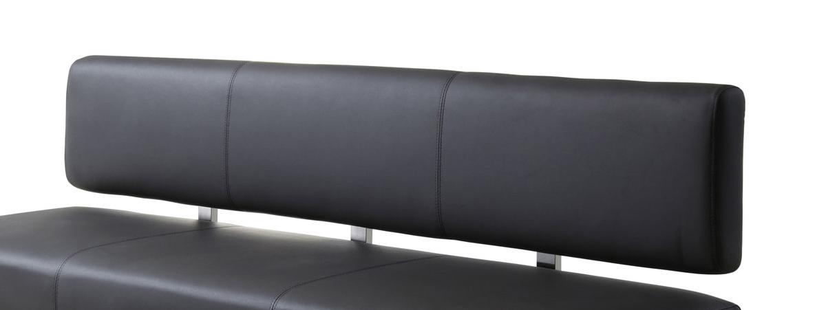 SAM® Esszimmer Sitzbank recyceltes Leder grau 180 cm SILAS Demnächst ...