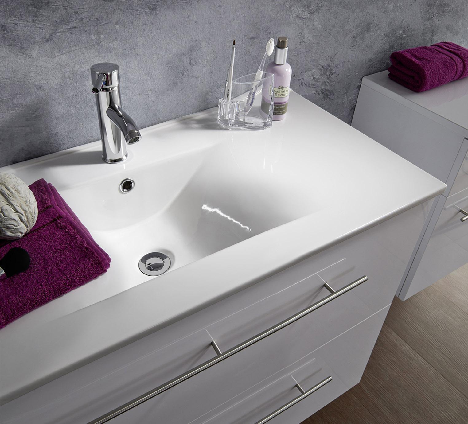 sam® 2tlg. badezimmer set spiegelschrank weiß 80 cm verena demnächst !, Badezimmer ideen