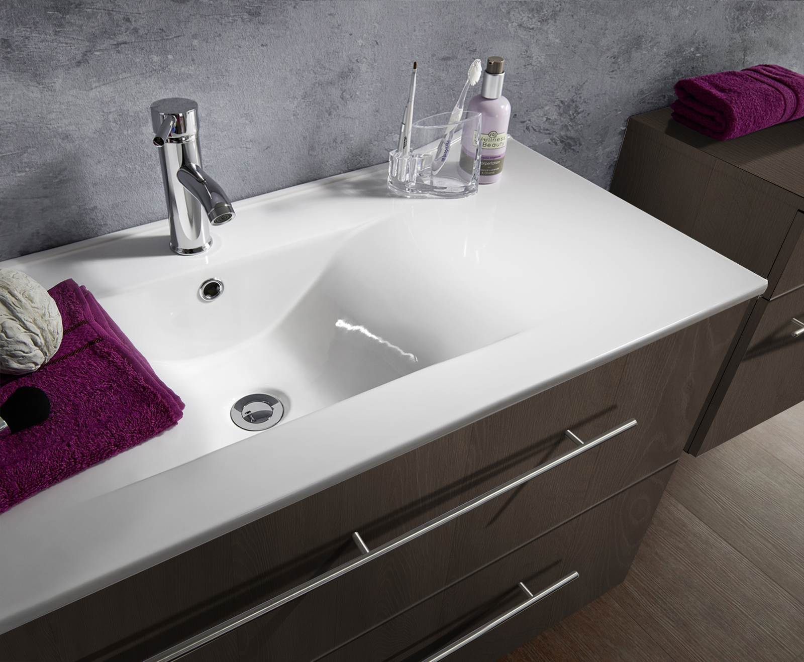 Badezimmer Set Trüffeleiche 90 Cm Verena Demnächst !