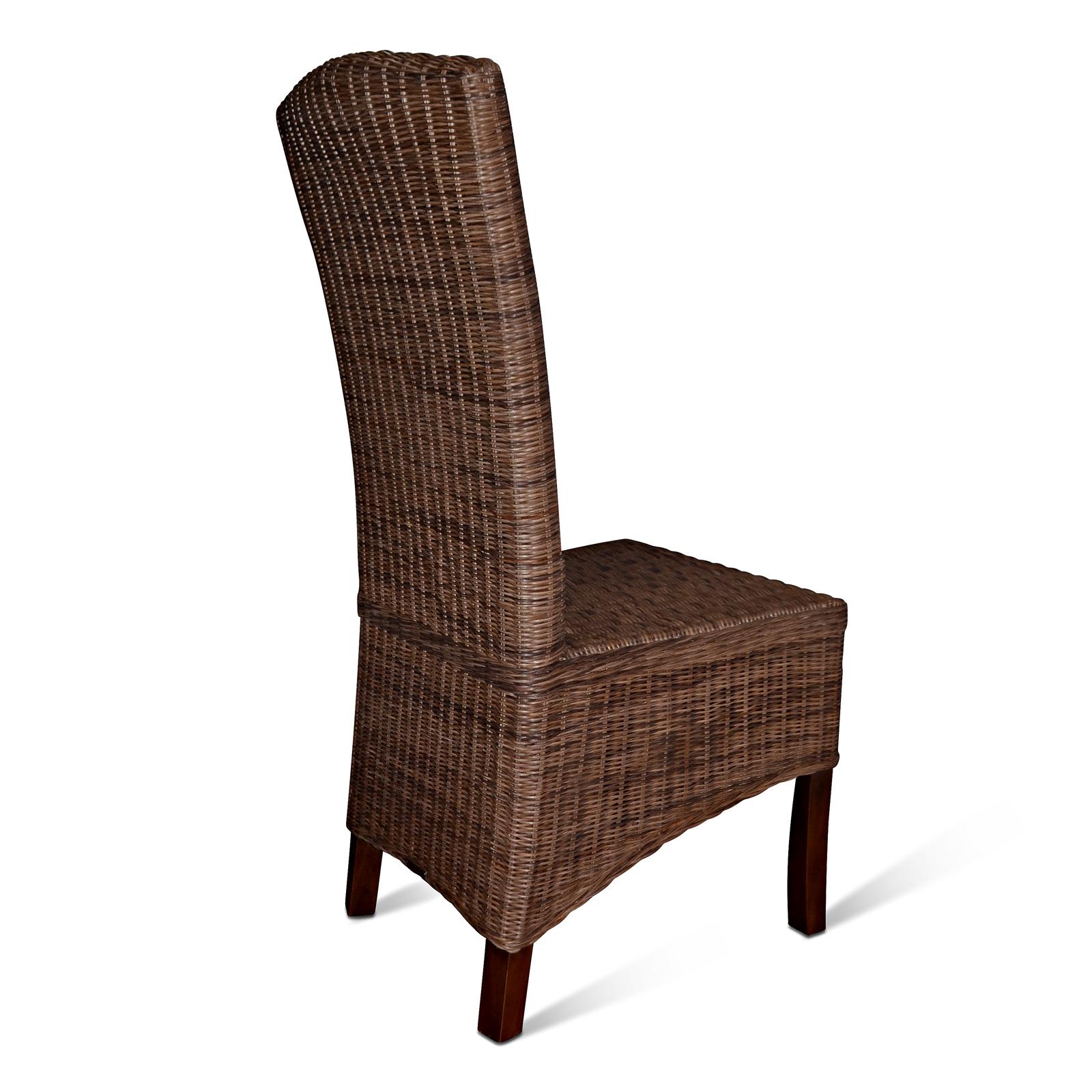 sam esszimmerstuhl loomstuhl loom geflecht kolonial nico. Black Bedroom Furniture Sets. Home Design Ideas
