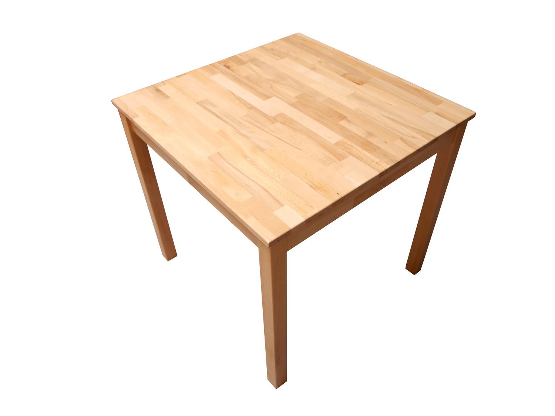Sale esstisch massivholz buche 140 x 80 cm esszimmertisch for Buche esszimmertisch