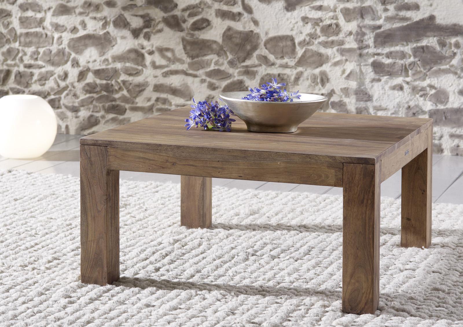 sam couchtisch 80 x 40 x 80 cm akazie massiv stone saber 6608. Black Bedroom Furniture Sets. Home Design Ideas