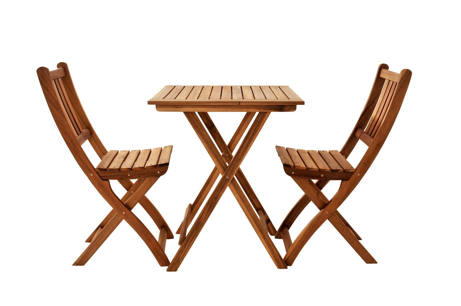 sam balkonm bel set akazie 3tlg balkontisch 60 x 60 cm bloom. Black Bedroom Furniture Sets. Home Design Ideas
