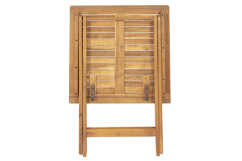 SAM® Balkonmöbel Set 3tlg Akazie Klapptisch 62 x 62 cm CAMERON ...