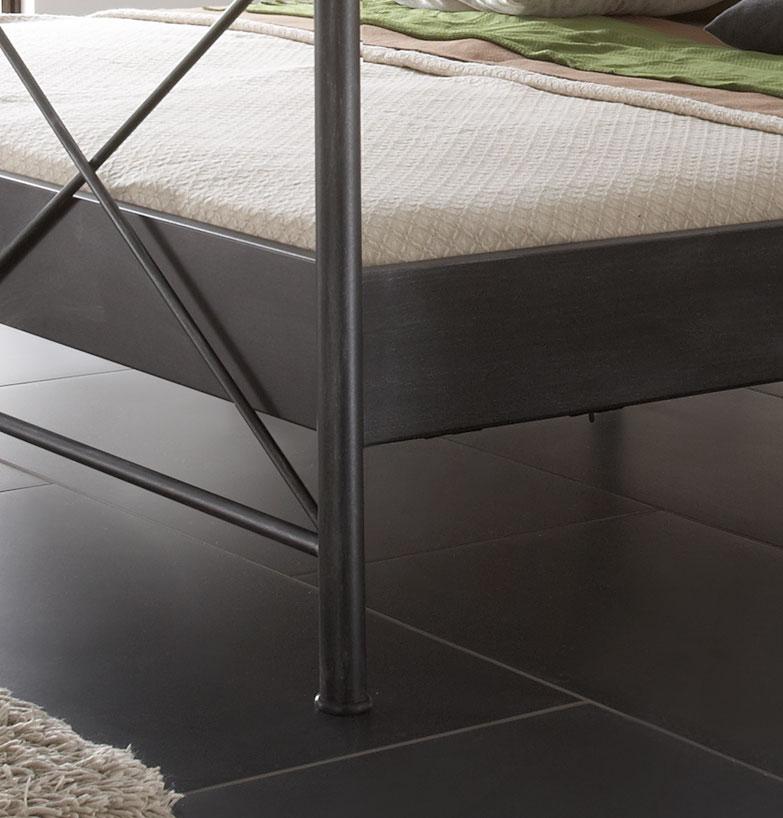 sam metallbett schwarz 180 x 200 cm imola g nstig. Black Bedroom Furniture Sets. Home Design Ideas