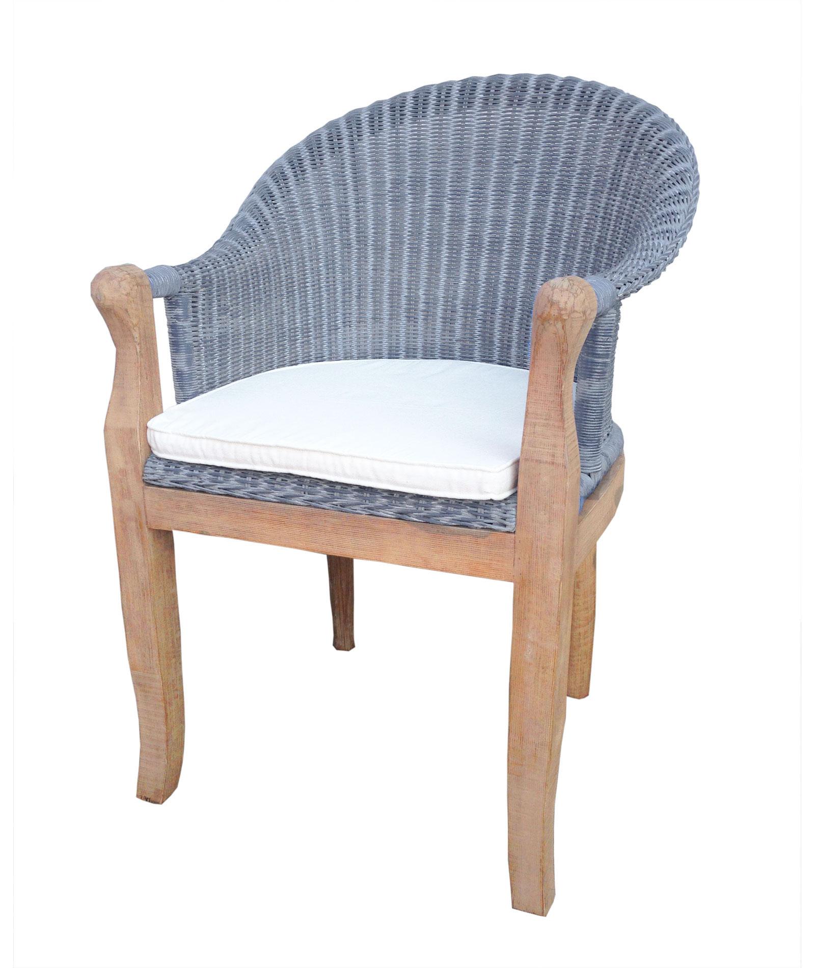 Stühle Rattan Esszimmer | Möbelideen Esszimmer Set Grau Weiss