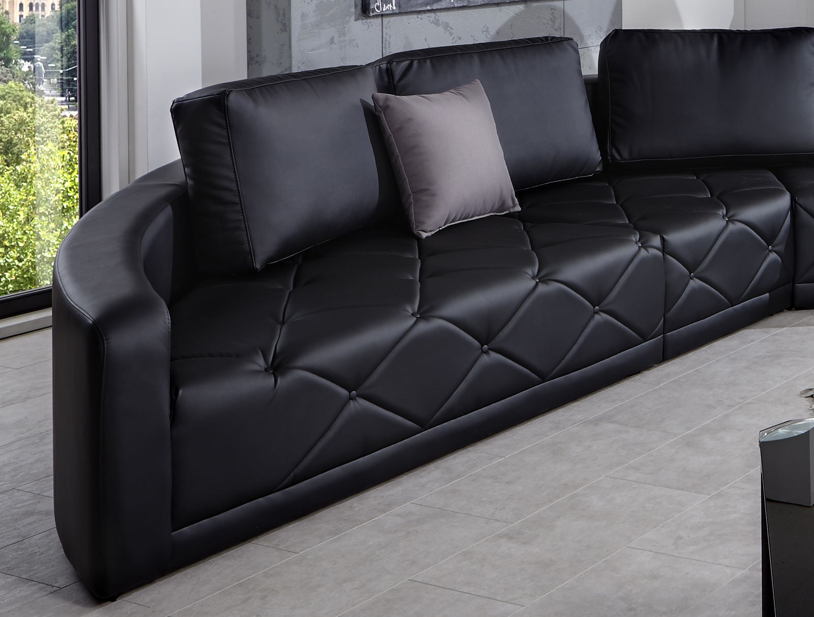 couch landschaft xxl inkl nur inkl lieferung with couch landschaft fabulous offene kuche couch. Black Bedroom Furniture Sets. Home Design Ideas