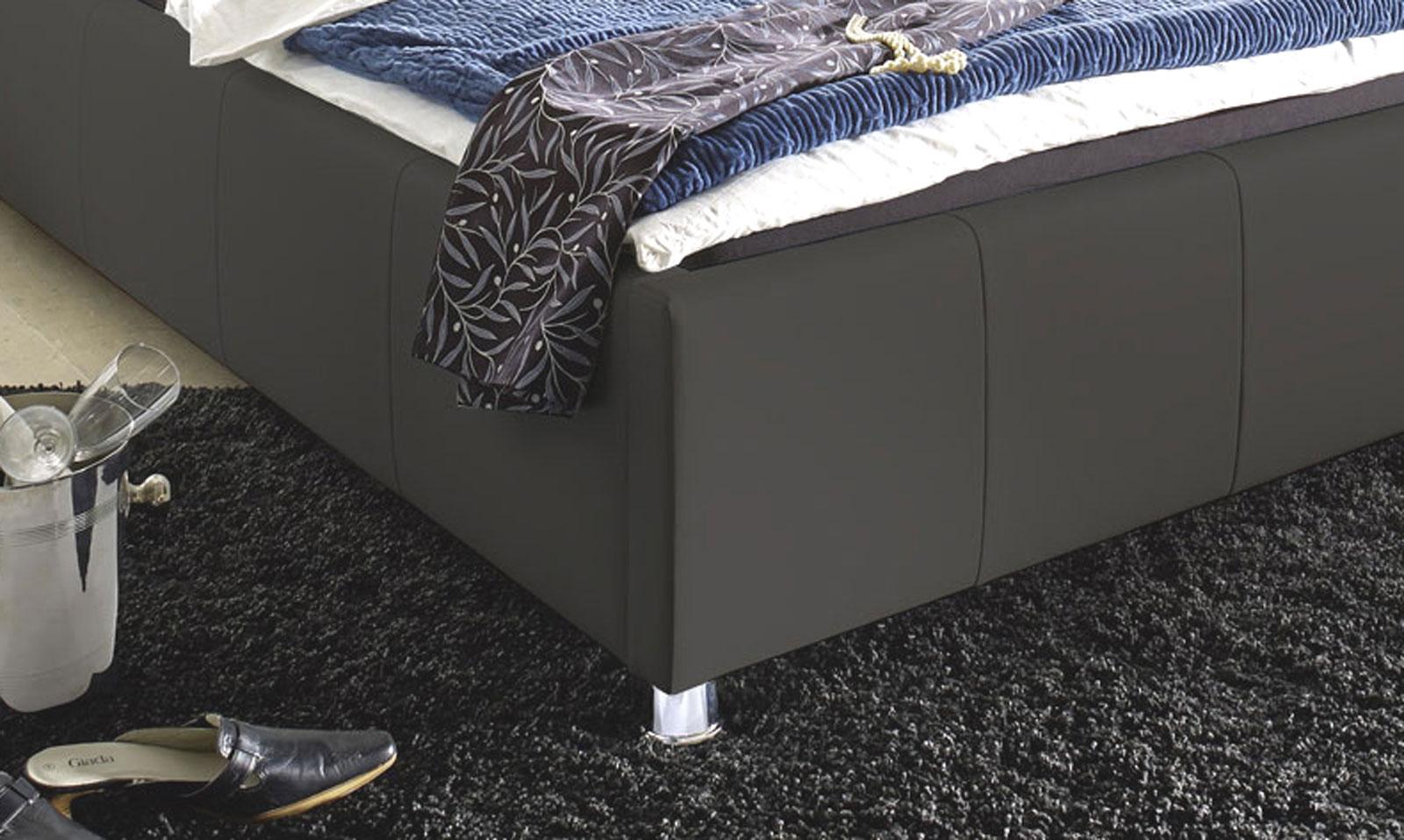 sam® bett polsterbett jugendbett grau 100 x 200 cm kira, Hause deko