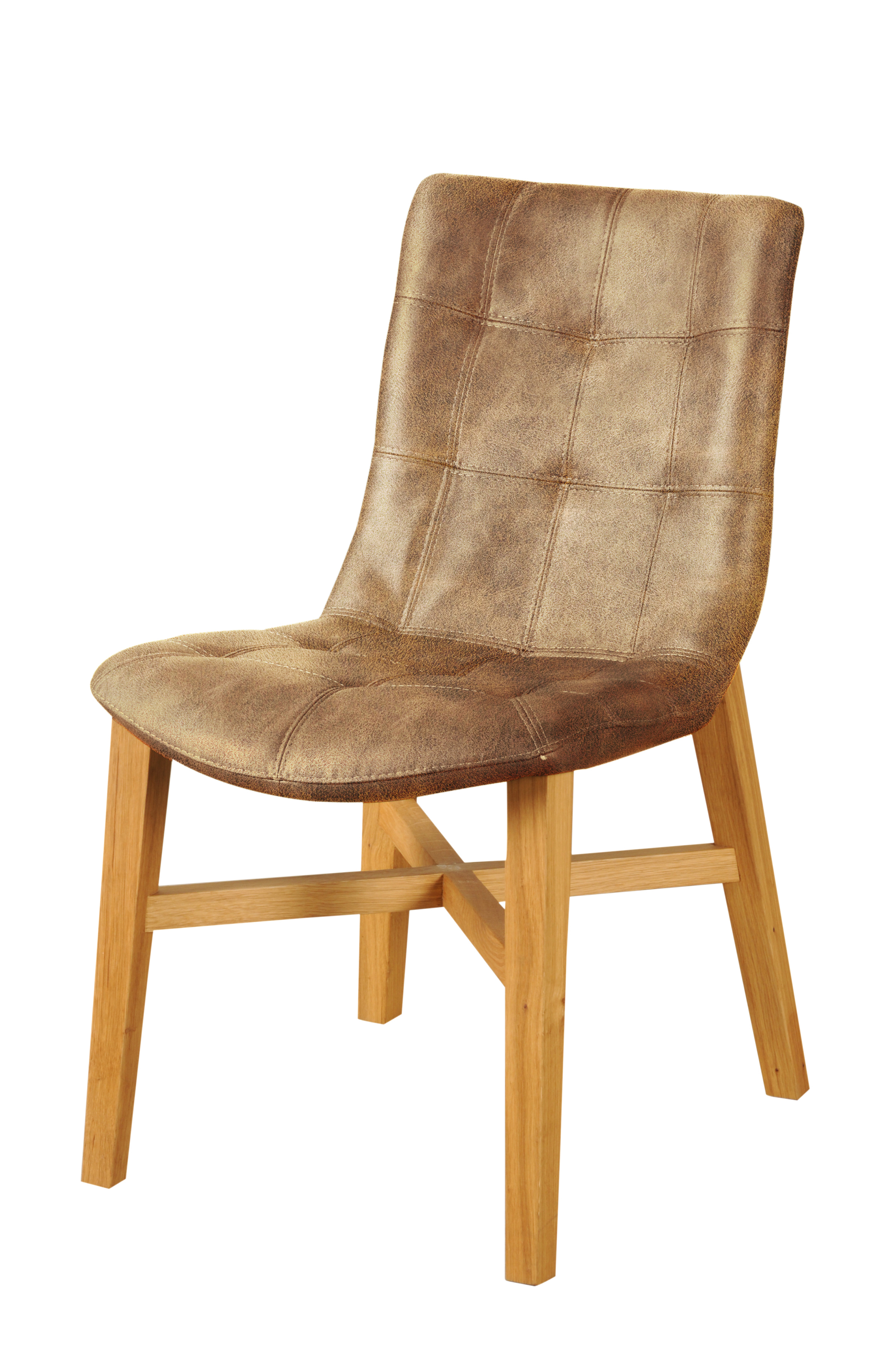 sam® esszimmer design stuhl braun eiche bernd, Wohnzimmer dekoo