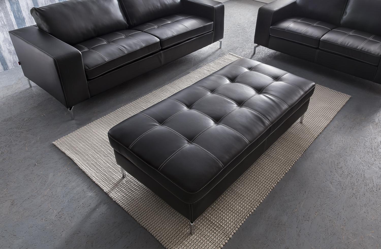 sam sofa garnitur dunkelgrau belair 3 2 1 g nstig. Black Bedroom Furniture Sets. Home Design Ideas