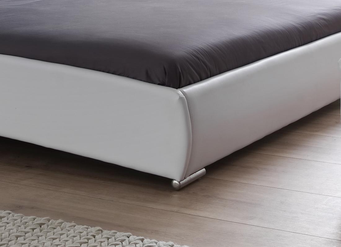 Einzelbett design  SAM® Polsterbett Einzelbett 120 x 200 cm weiß BEBOP
