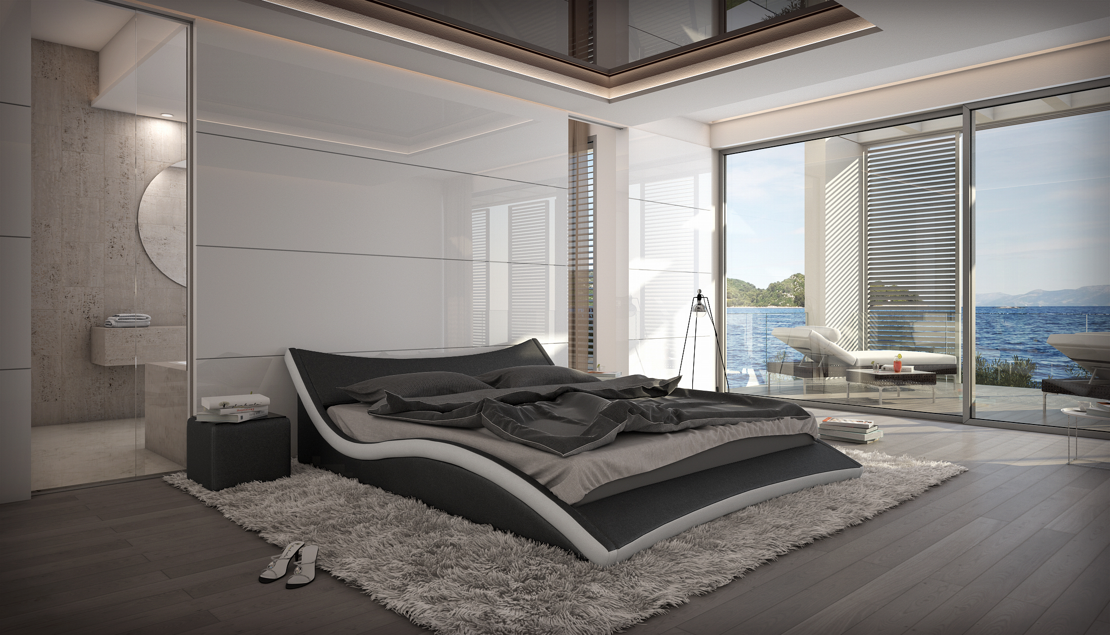 Chambre Luxe Moderne Ideas - Design Trends 2017 - shopmakers.us