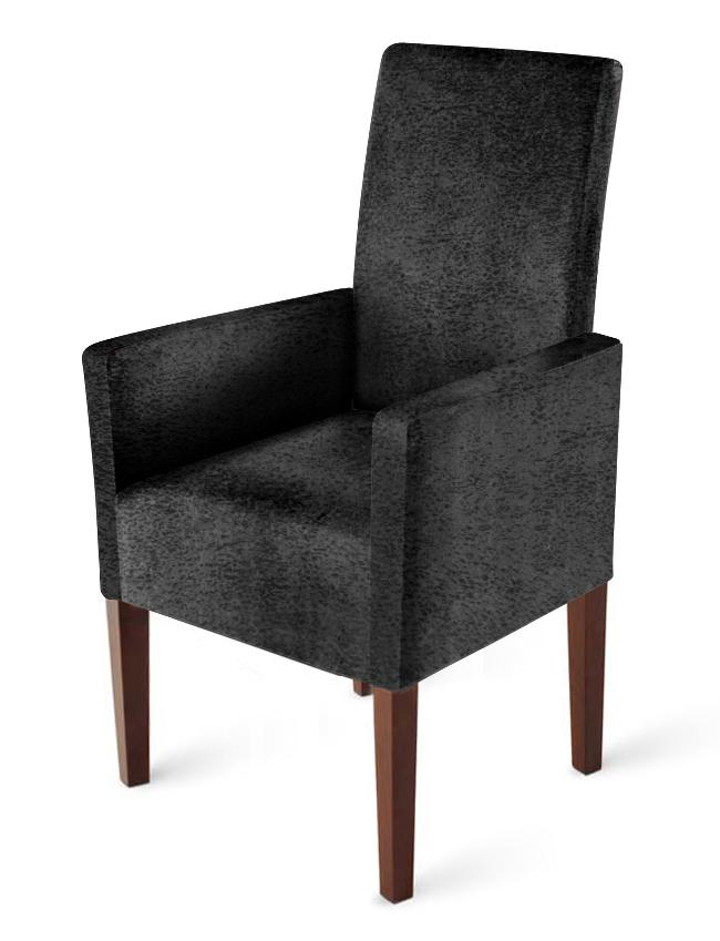 sam armlehnstuhl stoff wildlederoptik grau kolonial clea auf lager. Black Bedroom Furniture Sets. Home Design Ideas