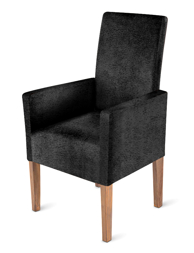 sam stoff stuhl wildlederoptik grau gr ulich arabella auf lager. Black Bedroom Furniture Sets. Home Design Ideas