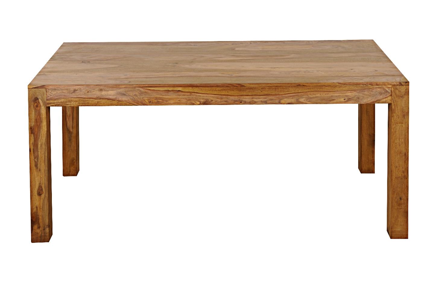 SAM® Esstisch Massivholz 200 x 100 cm Sheesham WHITE MOUNTAIN