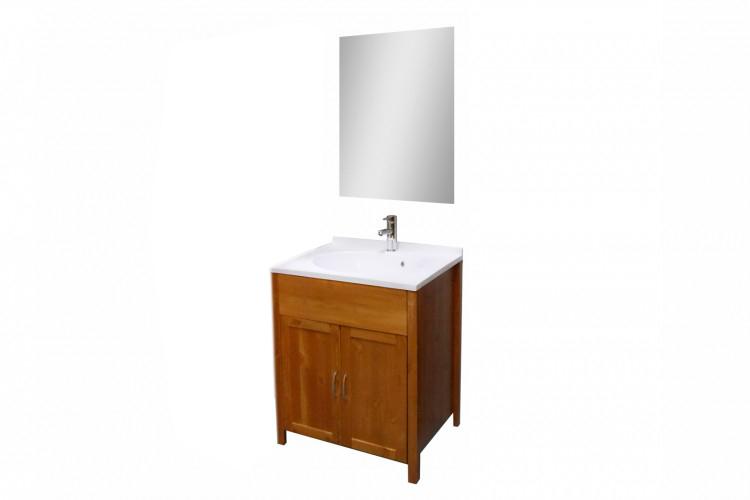 sale badm bel set 2tlg honig hoch massiv kiefer lackiert venedig. Black Bedroom Furniture Sets. Home Design Ideas
