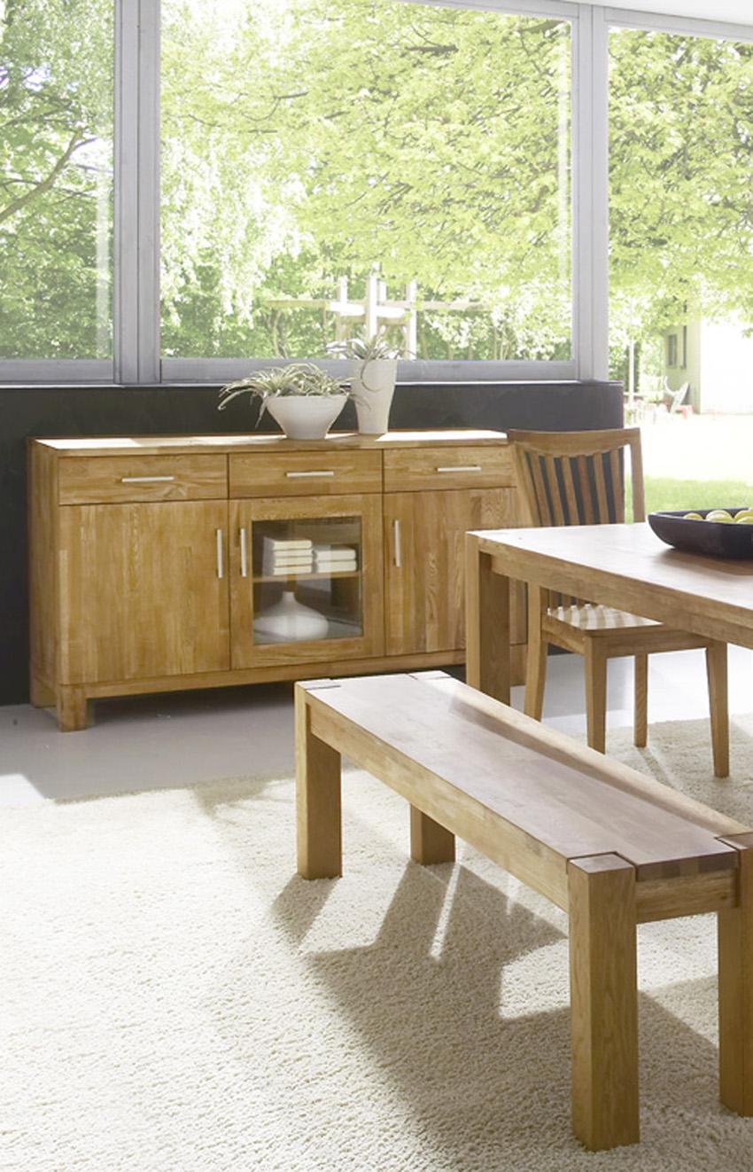 sam esszimmer sideboard 150 cm matrix 2803 1. Black Bedroom Furniture Sets. Home Design Ideas