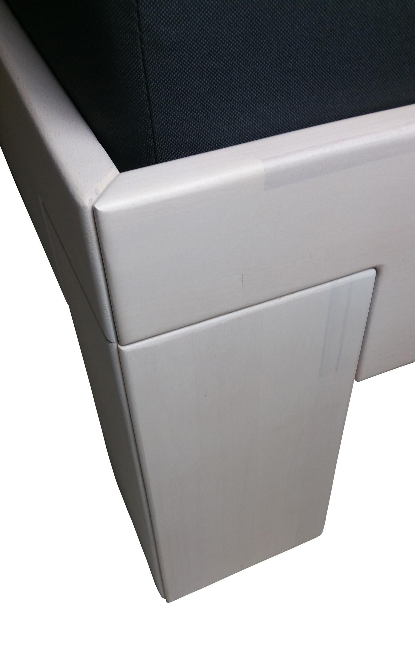 sam holzbett 160 x 200 cm buche wei lasiert sara. Black Bedroom Furniture Sets. Home Design Ideas