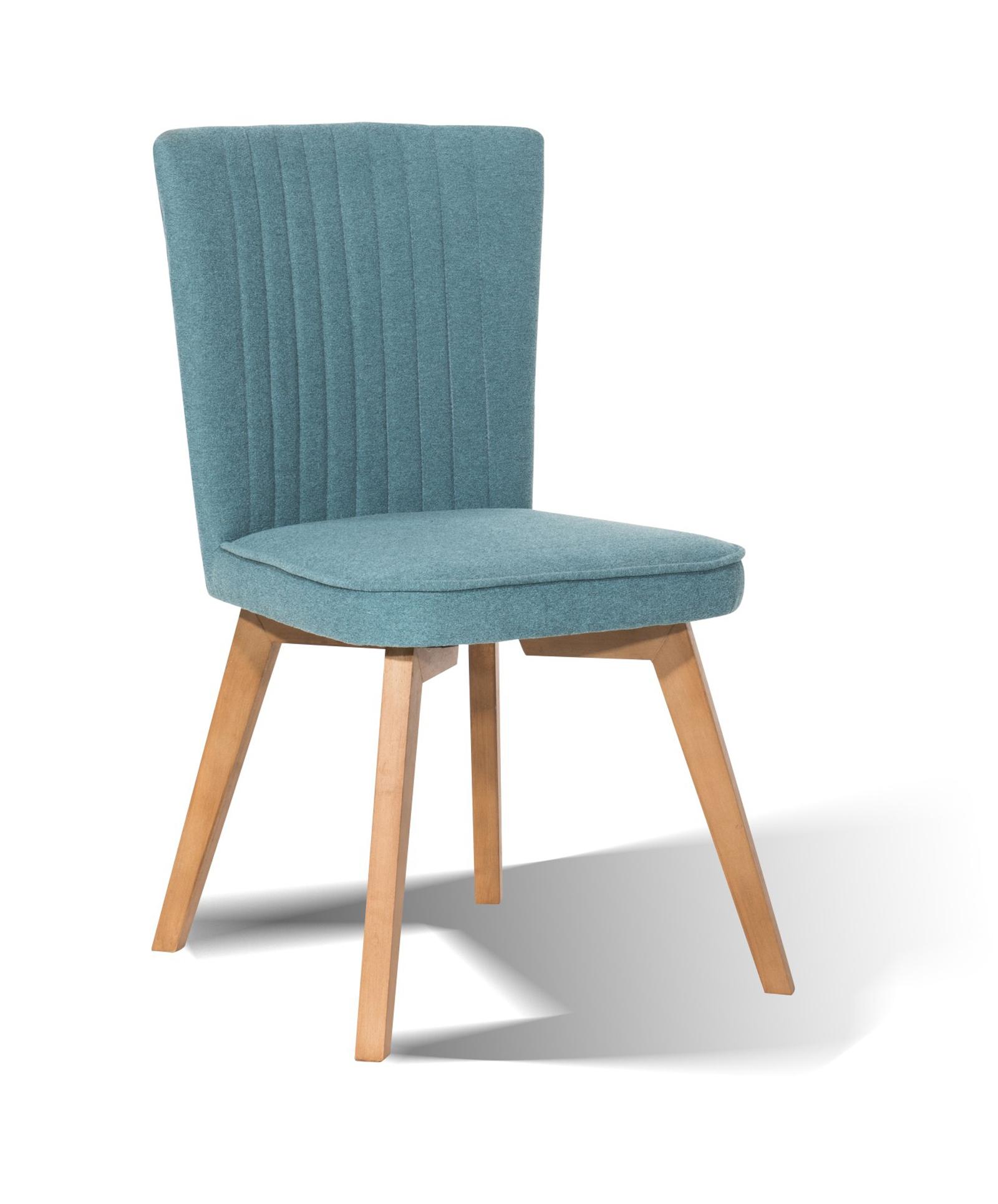 Aqua blau esszimmer st hle m belideen for Stuhl nordisches design