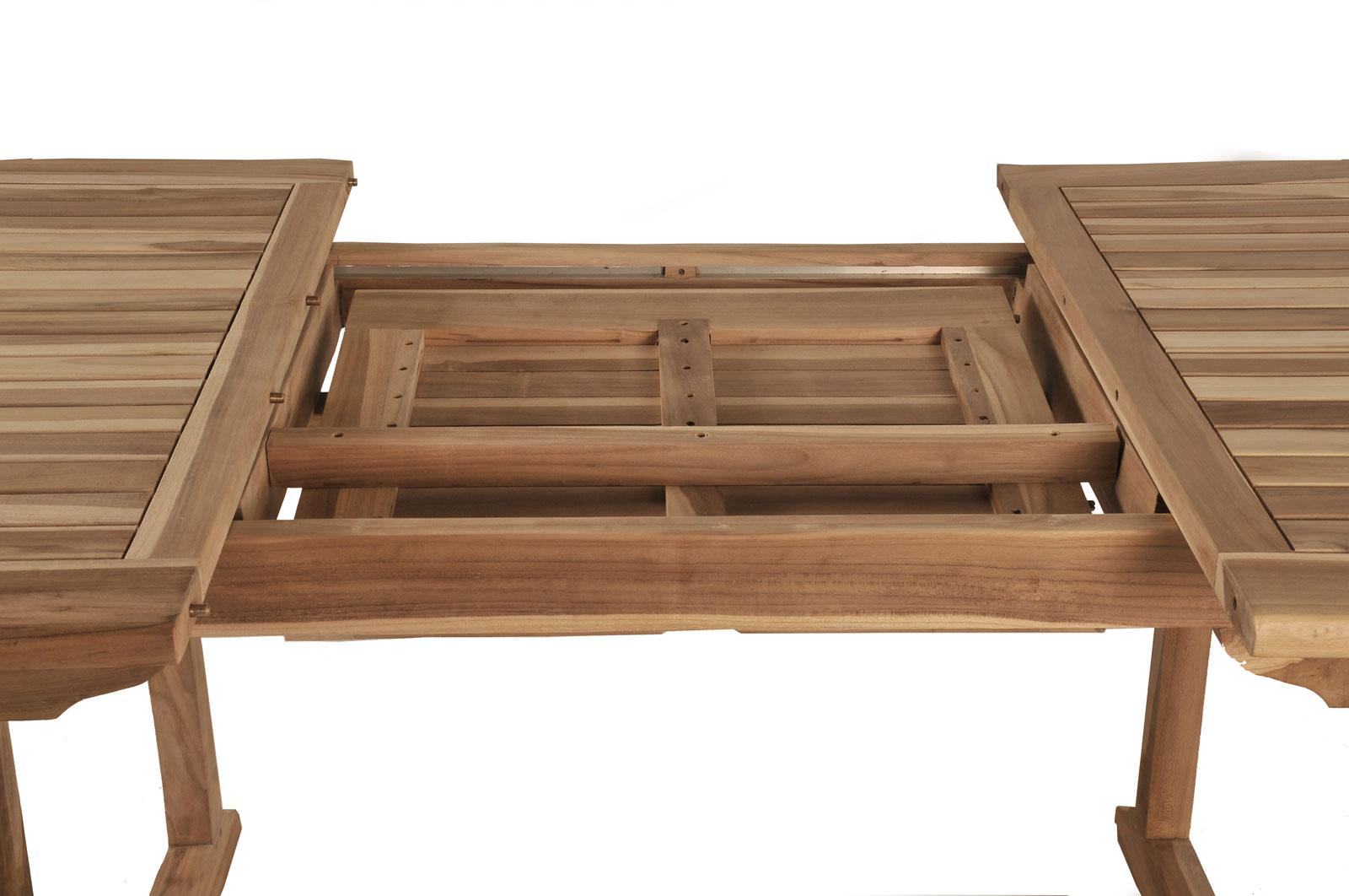 Wonderful SAM® Gartenmoebel Set 7tlg Akazie Tisch Oval 180 230 Cm SAINT TROPEZ Auf  Lager
