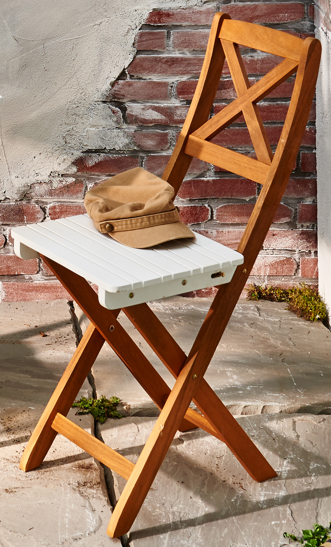 sam balkonm bel akazie 3tlg klapptisch 60 x 60 cm wei. Black Bedroom Furniture Sets. Home Design Ideas