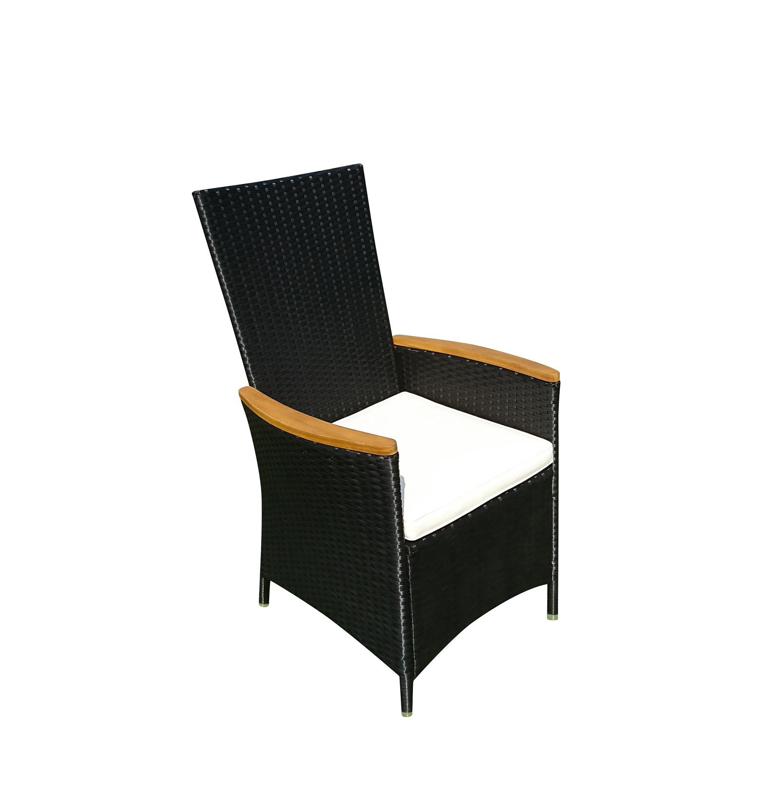 sam sessel gartensessel verstellbar polyrattan fsc finn. Black Bedroom Furniture Sets. Home Design Ideas