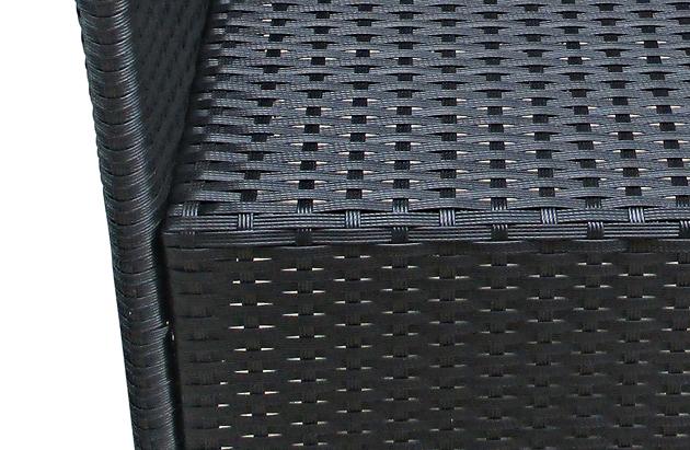 Toom Gartenmobel Viola :  Armlehnsessel verstellbar FINN Polyrattan Aluminium mit Kissen FSC