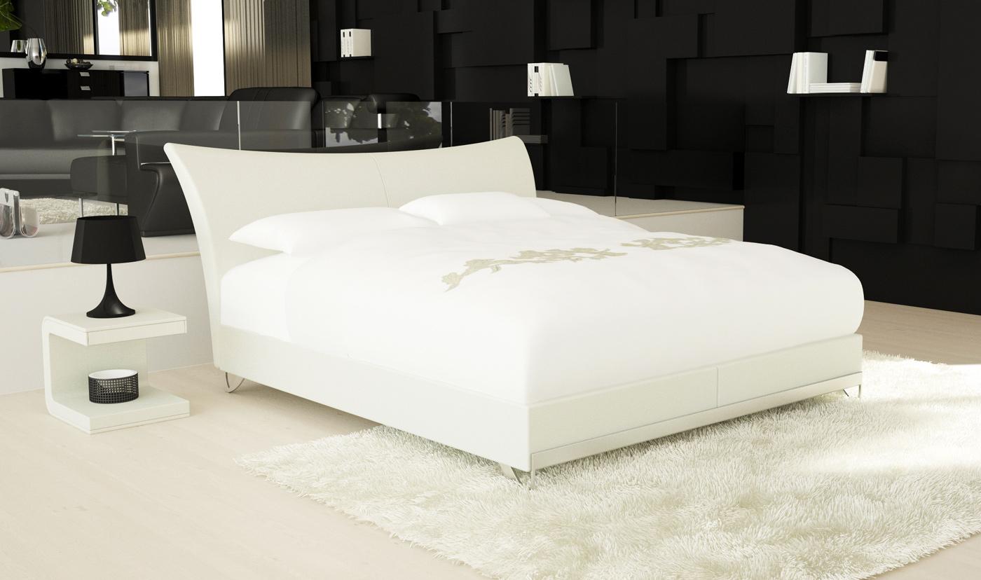 sam boxspringbett hotelbett 140 x 200 cm wei wing opera. Black Bedroom Furniture Sets. Home Design Ideas