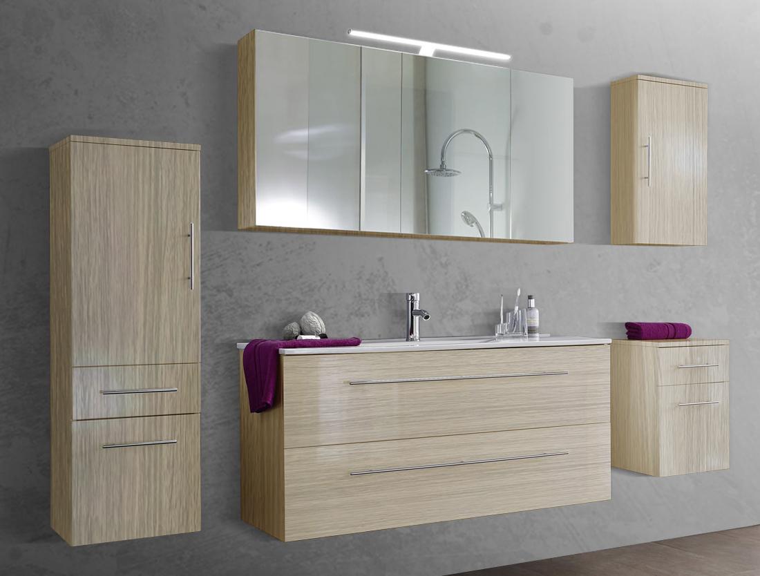 sam 5tlg badezimmer set sonomaeiche 120 cm verena demn chst. Black Bedroom Furniture Sets. Home Design Ideas