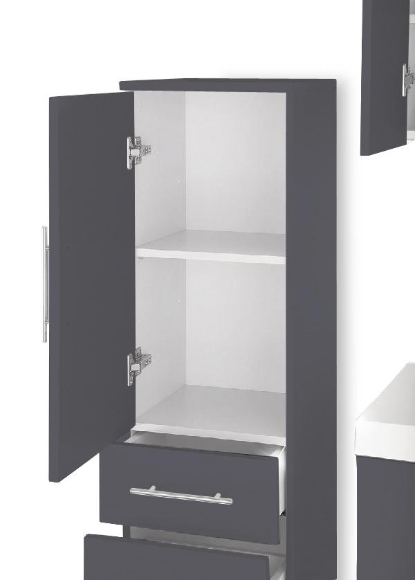 sam 5tlg badm bel set 100 cm beckenauswahl grau z rich. Black Bedroom Furniture Sets. Home Design Ideas